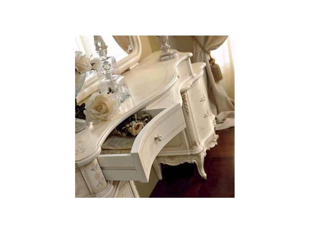 Valderamobili: Principe: стол туалетный 6 ящ.  (Laccato)