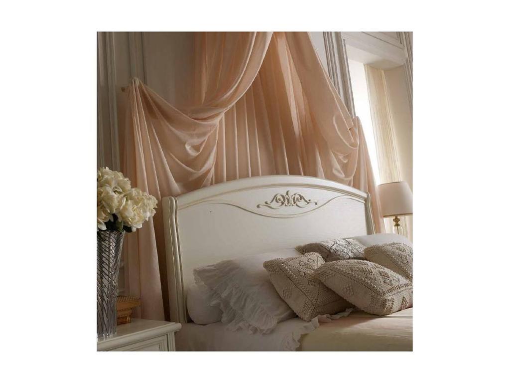 San Michele: Portofino: кровать двуспальная  Altea 160х200 без изножья (белый)