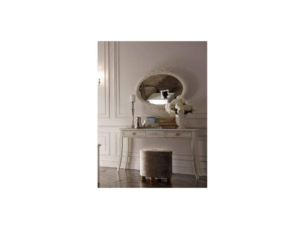 San Michele: Portofino: зеркало овальное  (белый)