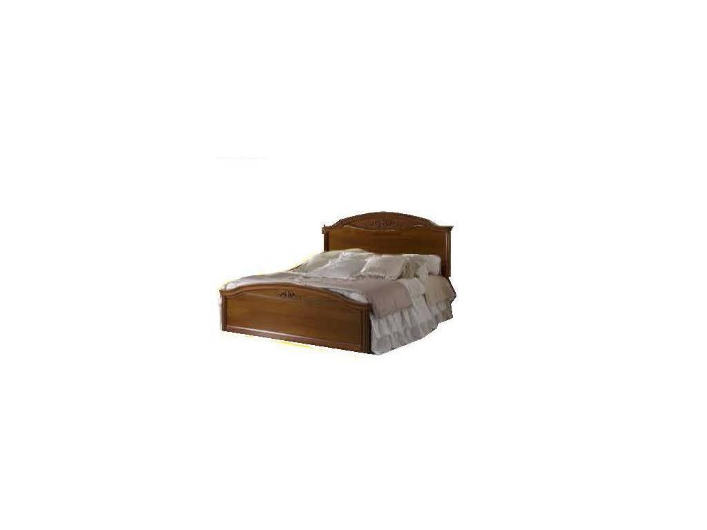 San Michele: Portofino: кровать  Calla 160х200 изголовье без ткани (вишня)