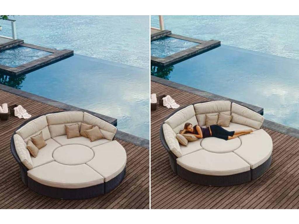 салон мебель диван круглый