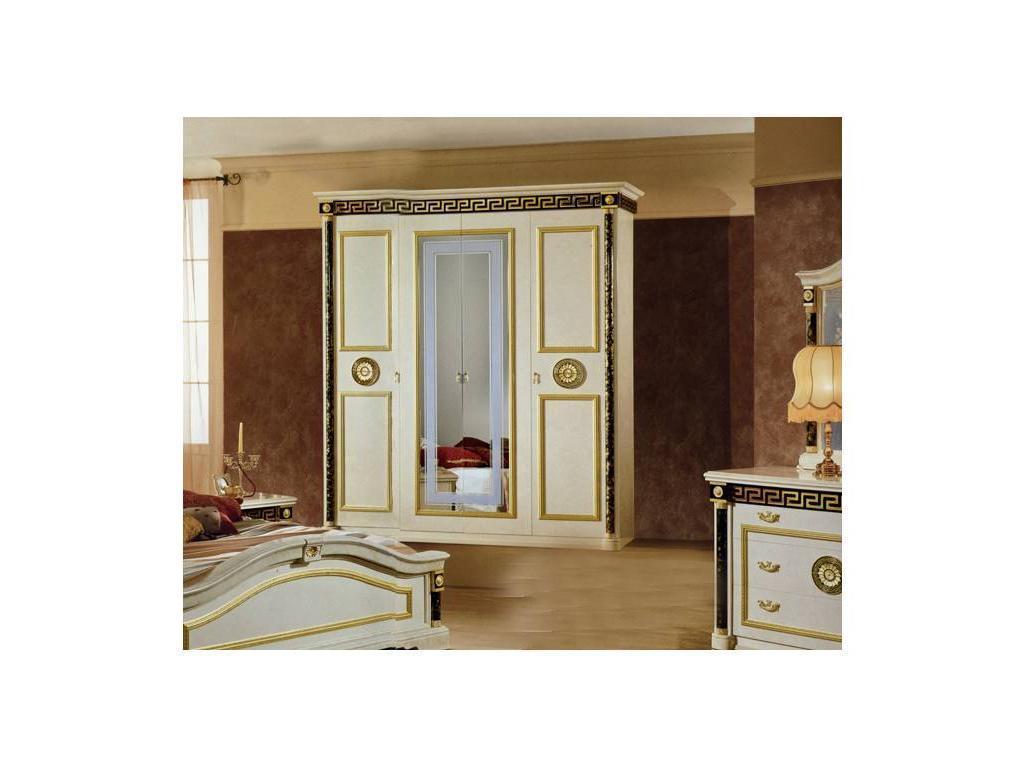 Mobis: Royale: шкаф 4-х дверный Рояле (белый)
