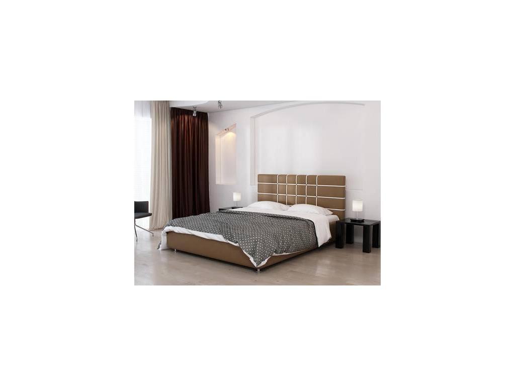 Tatami: Валенсия: кровать 180х200 с под.мех-м (экокожа)