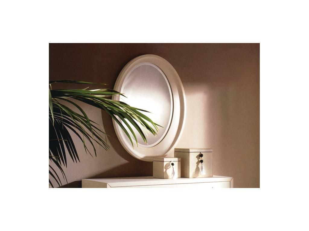 La Ebanisteria: Amura: зеркало  (blanco porto patinado)