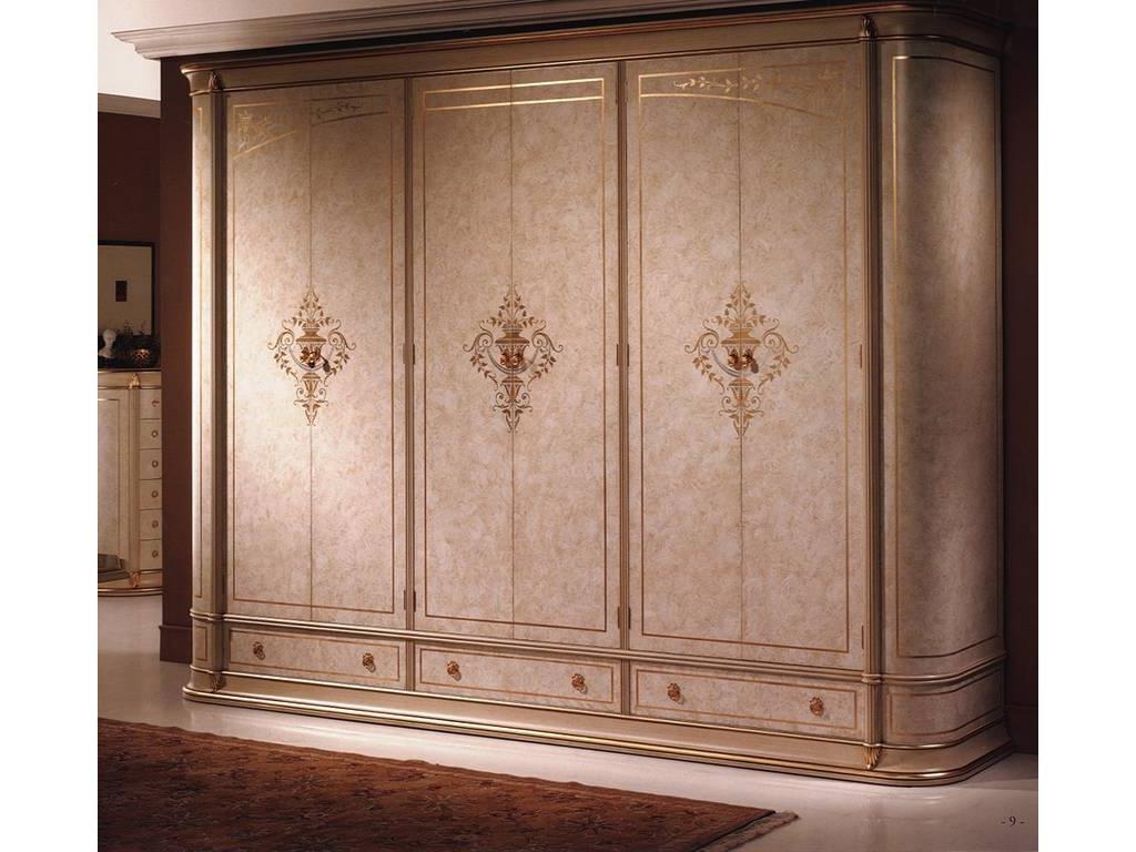 Vicente Zaragoza: Калифорния 20: шкаф 6 дверный  (лак, золото)