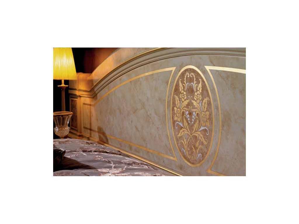 Vicente Zaragoza: Вена 17: кровать 160х200  (лак, золото)