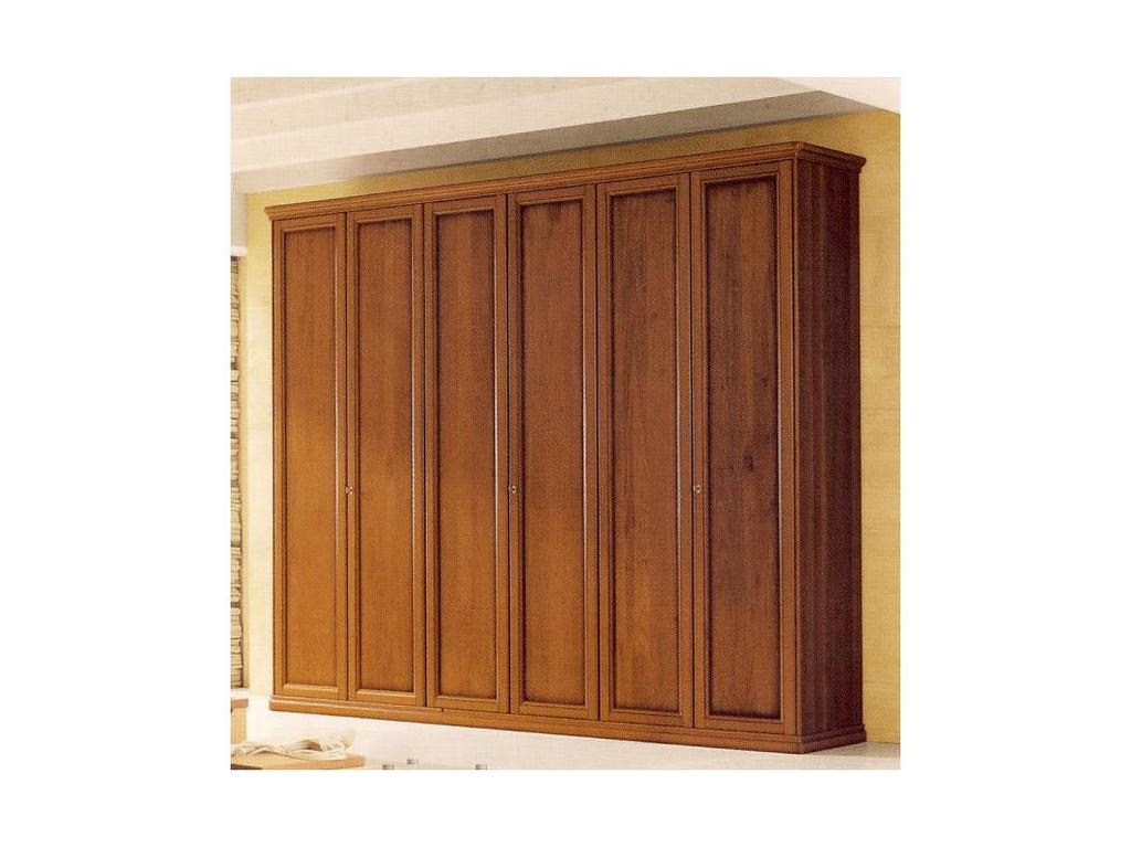 Tomasella: Epoca: шкаф 3-х дверный super Эпоха  (темный орех)