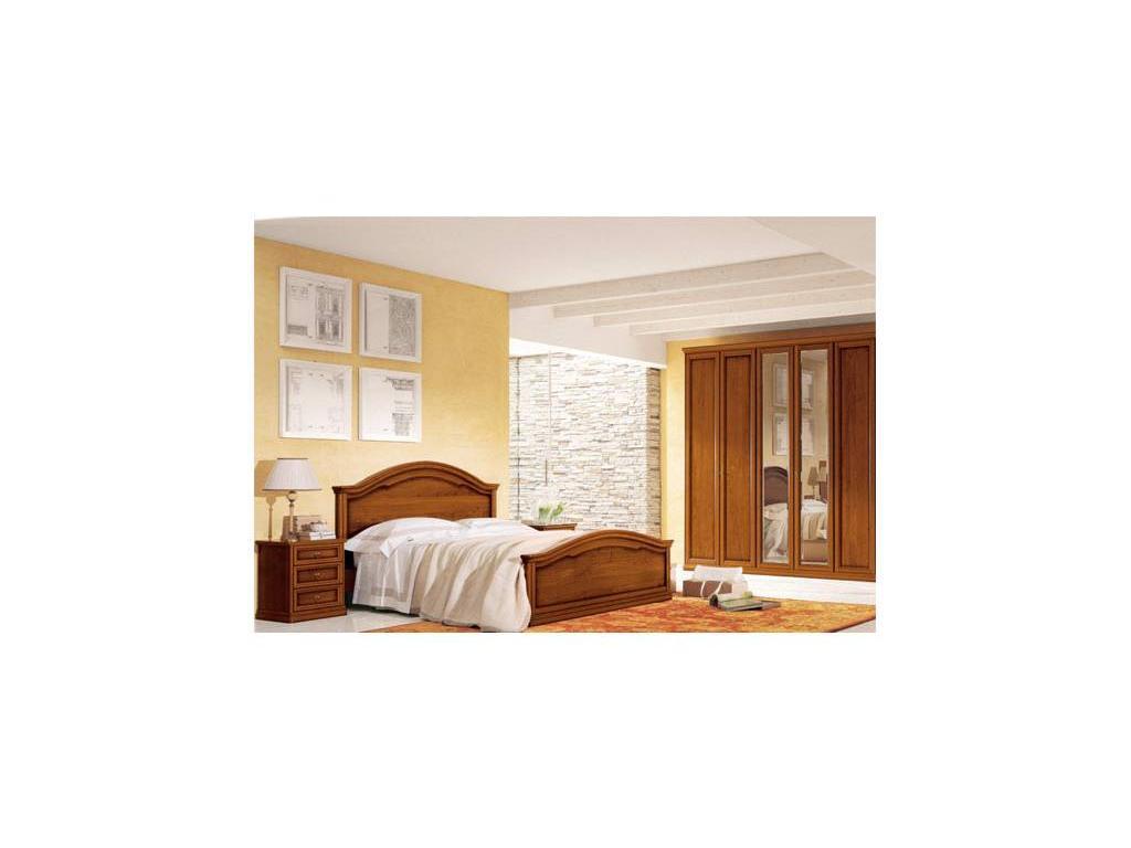 Tomasella: Epoca: кровать 180х200 Эпоха  (темный орех)