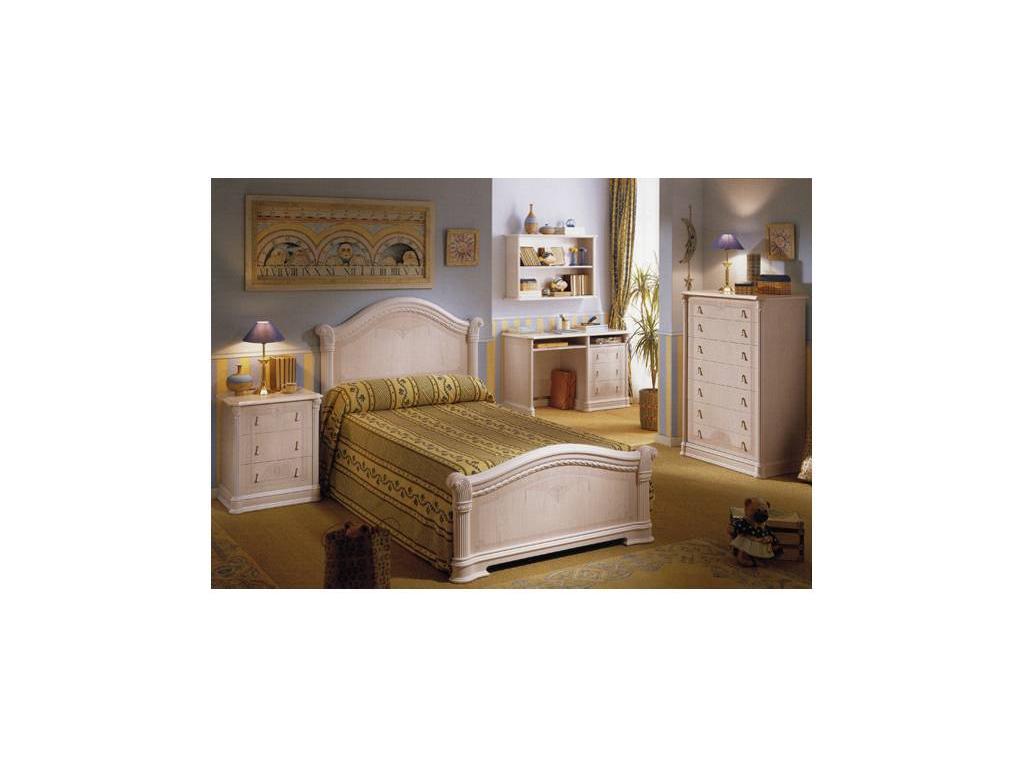 Vicente Folgado: 52: кровать 180х200  (белый)