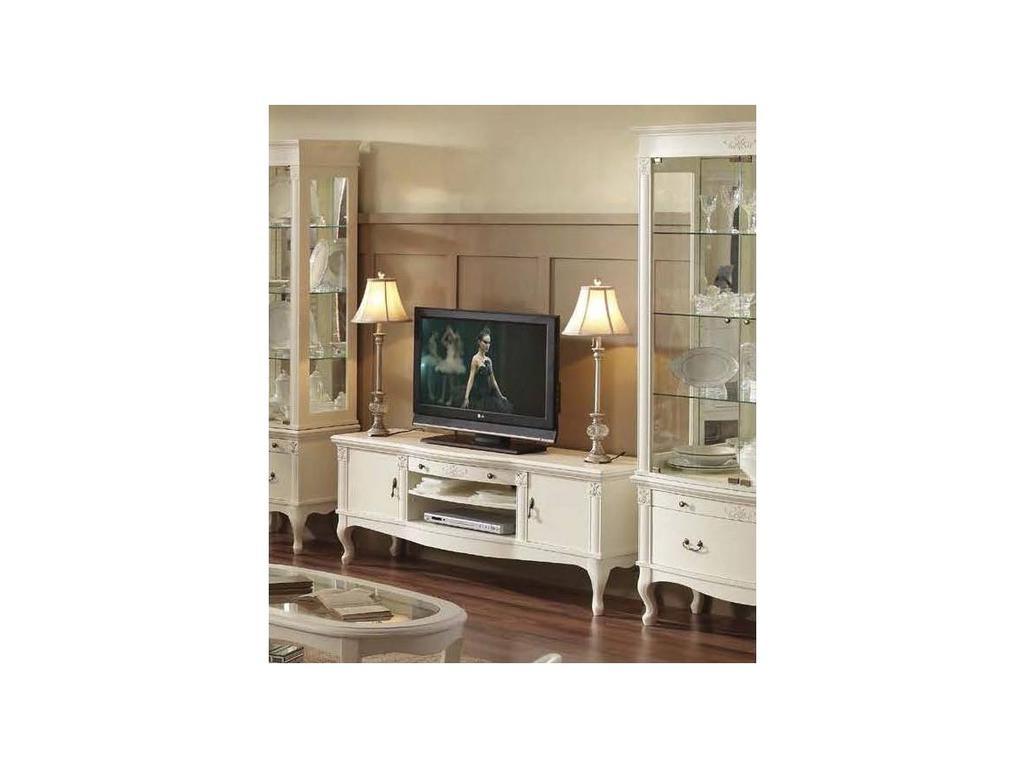 Panamar: тумба под телевизор  (белый)