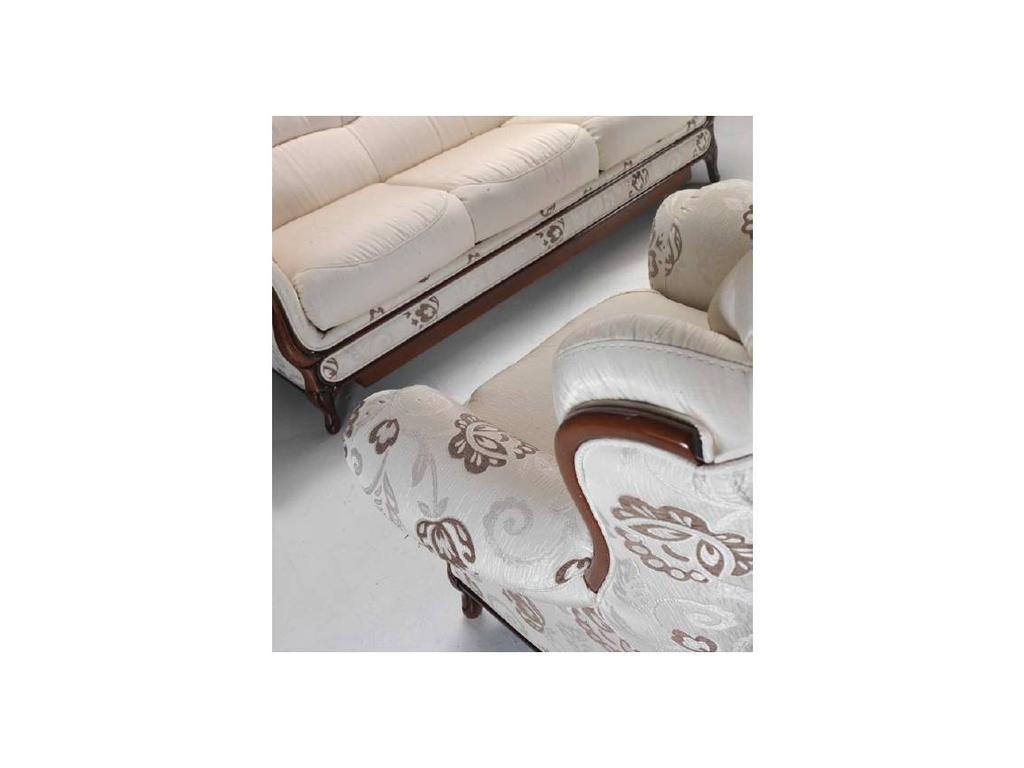 Nieri: Aerre: Венеция комплект мягкой мебели диван 3-х местный и 1 кресло (ткань)