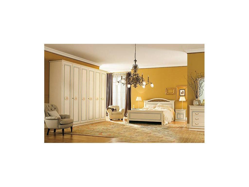 Pitti Charm: детская комната 16 с кроватью (filetto celeste)