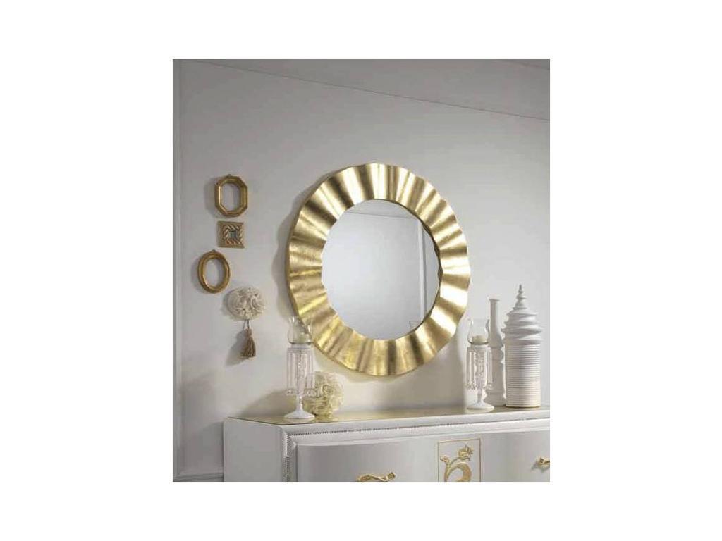 MobilPiu: Gioia: зеркало настенное SOLE (золото)