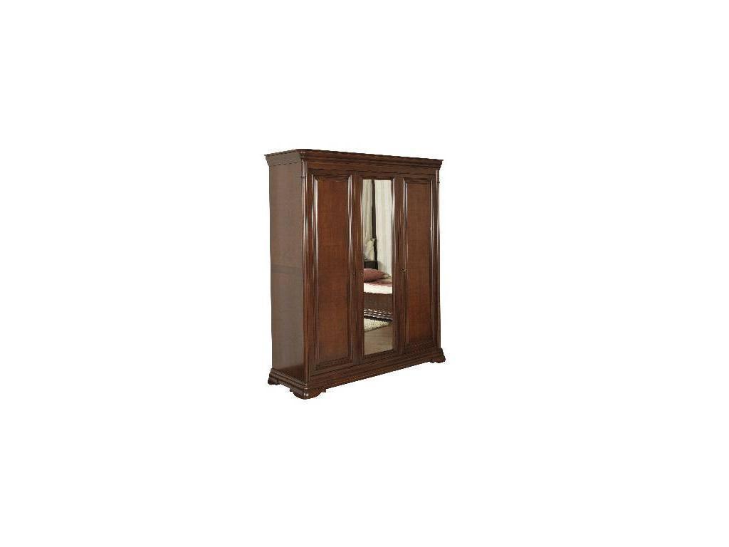 Mobex Мобекс: Элеганс: шкаф 3-х дверный (орех)