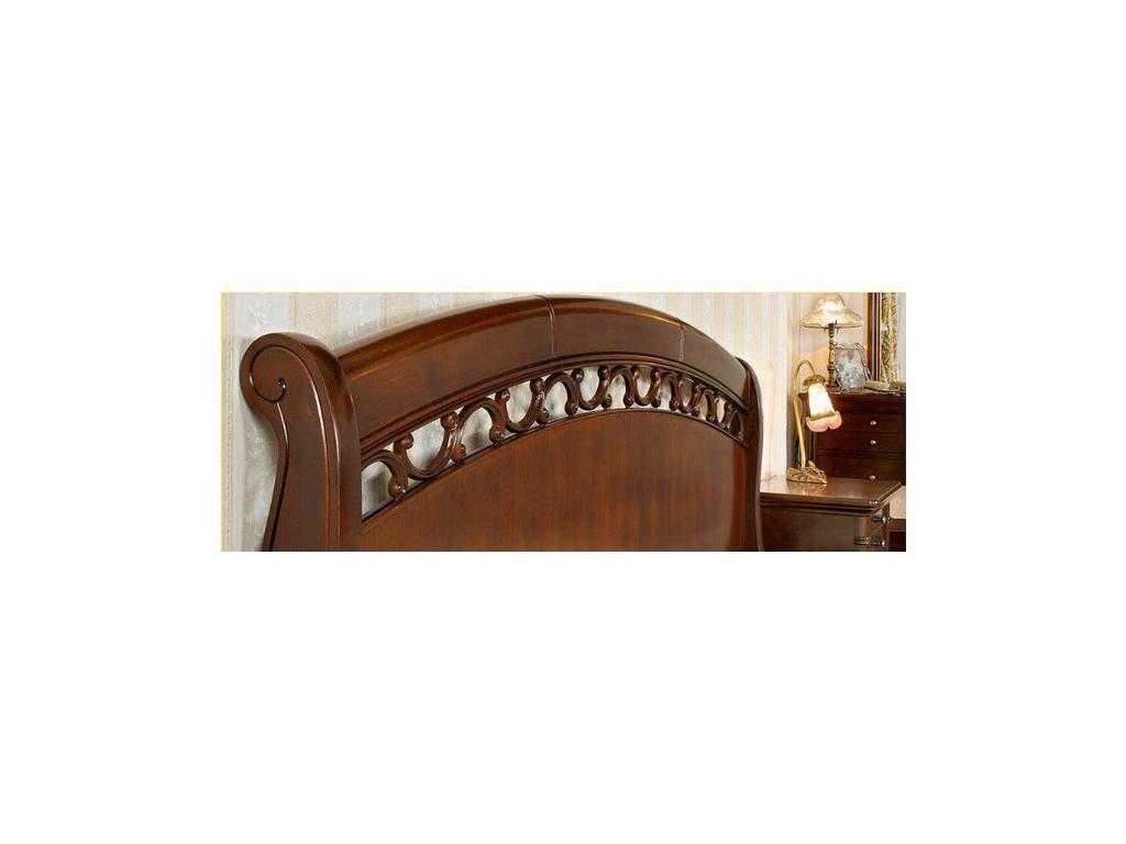 Mobex Мобекс: Элеганс: кровать 160х200 NA (орех)