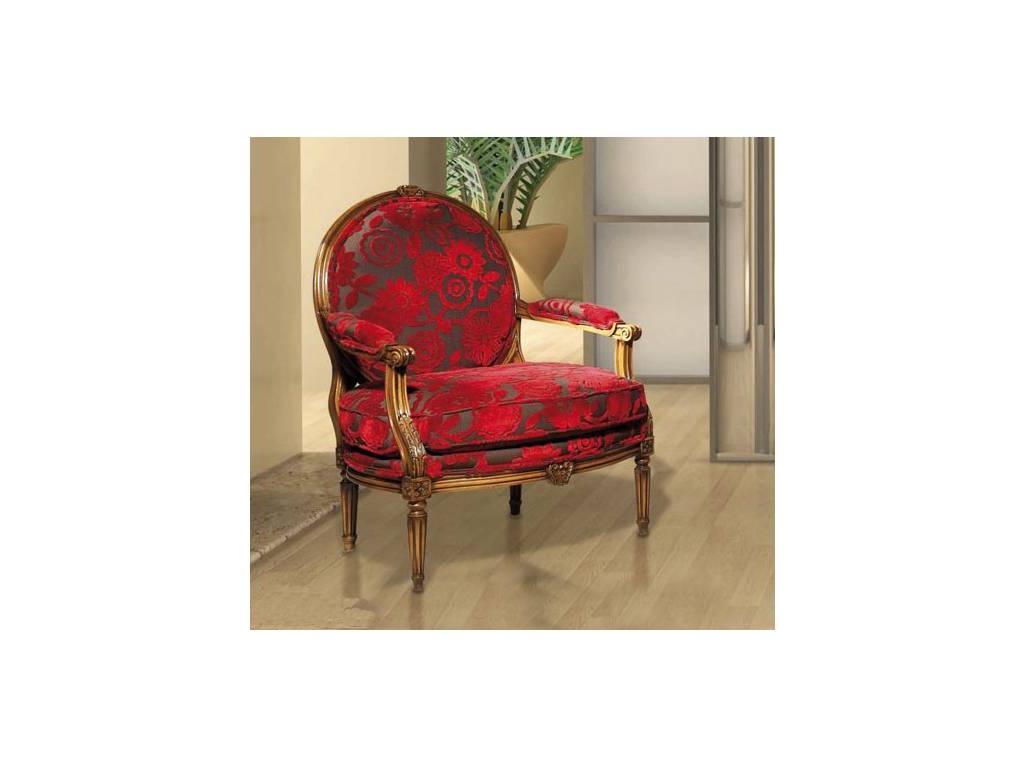 Provence Mobiliario: Originalis: кресло Milano  (D manual patina,total lacquer)