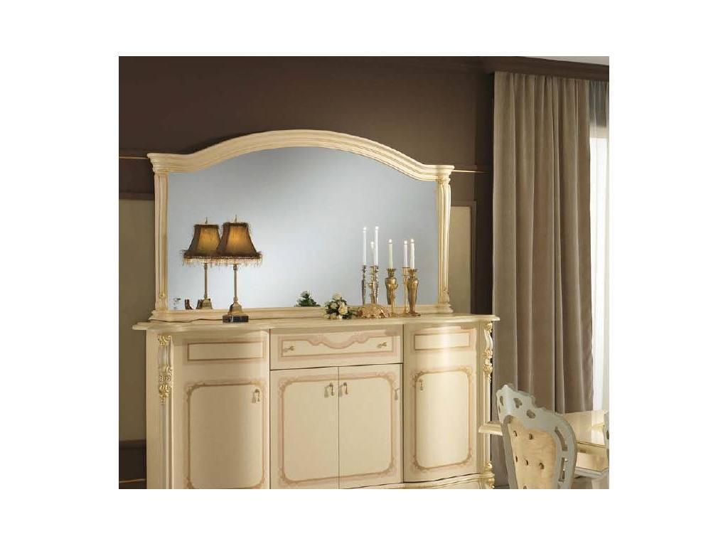 MobilPiu: Регина: зеркало для буфета (слоновая кость, золото)