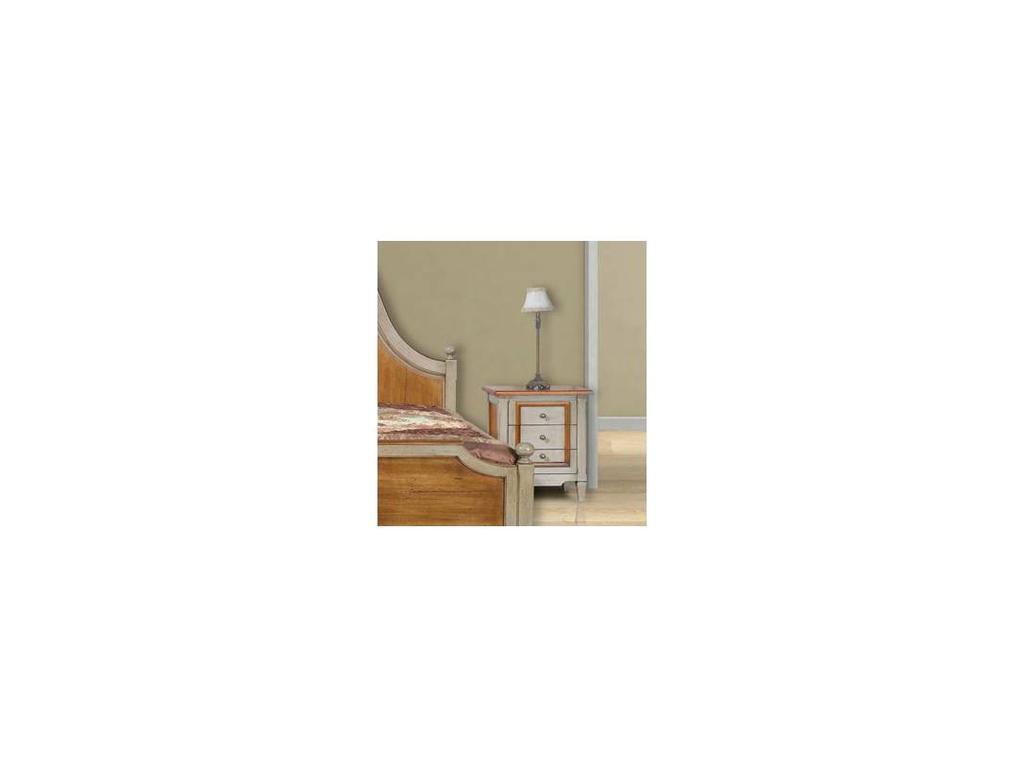 Provence Mobiliario: Tendresse: тумба прикроватная Тендресс  (D manual patina,total lacquer)