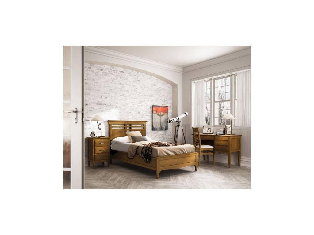 Grupo Seys: Fontana: кровать 105х200 Фонтана  (черешня)