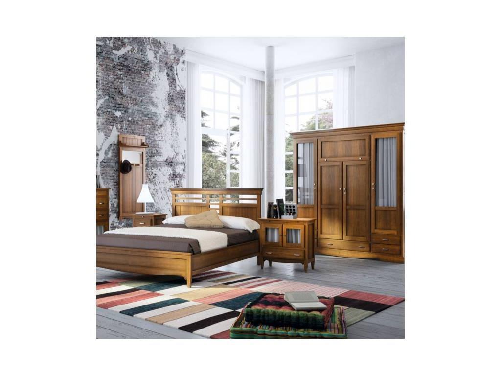 Grupo Seys: Fontana: тумба прикроватная 2-х дверная Фонтана  (черешня)