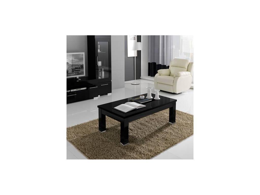 Poly: Kristel: кофейный столик (черный) лак