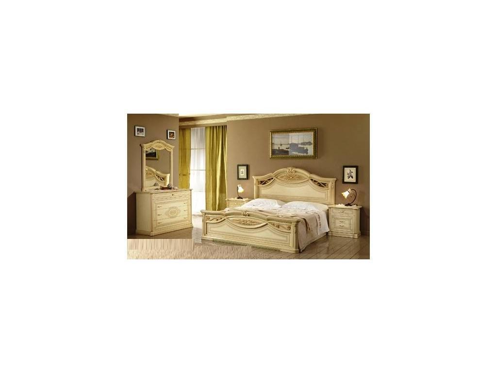 Poly: Marika: кровать 160х200  (бежевый)