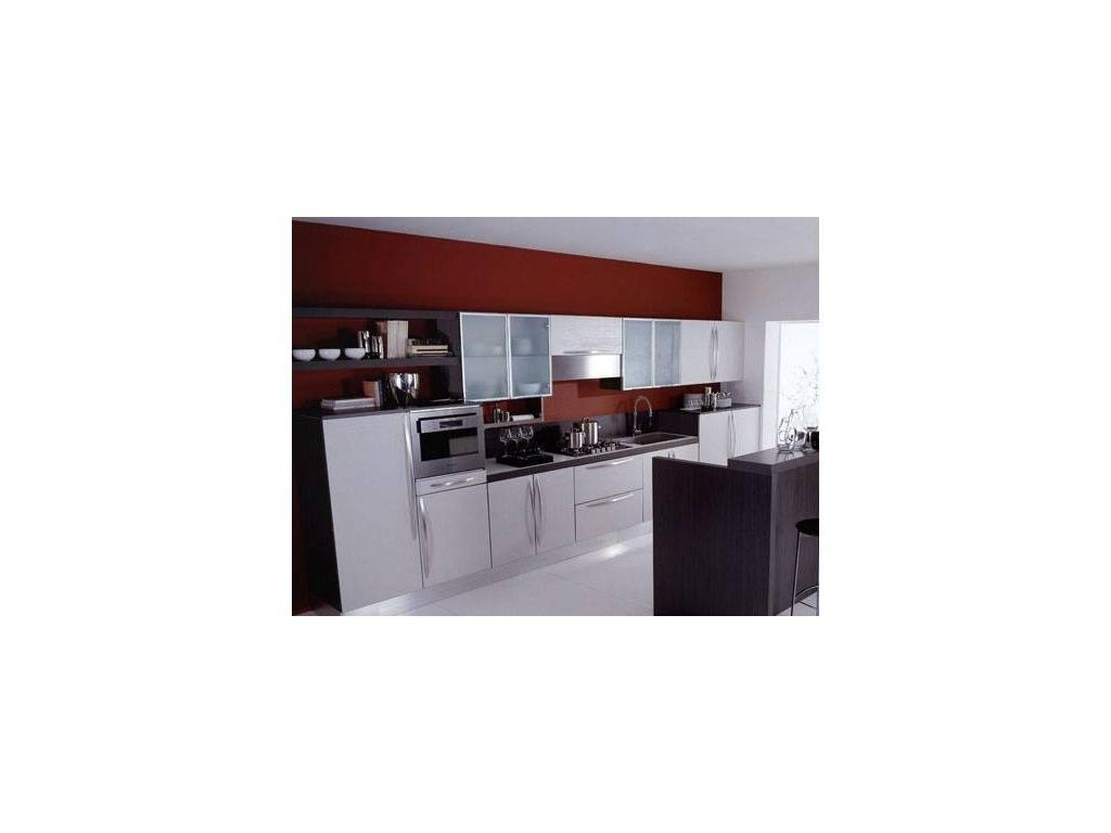 Aran: Miro: кухня Миро (глянец или матовый с отделкой под дерево)