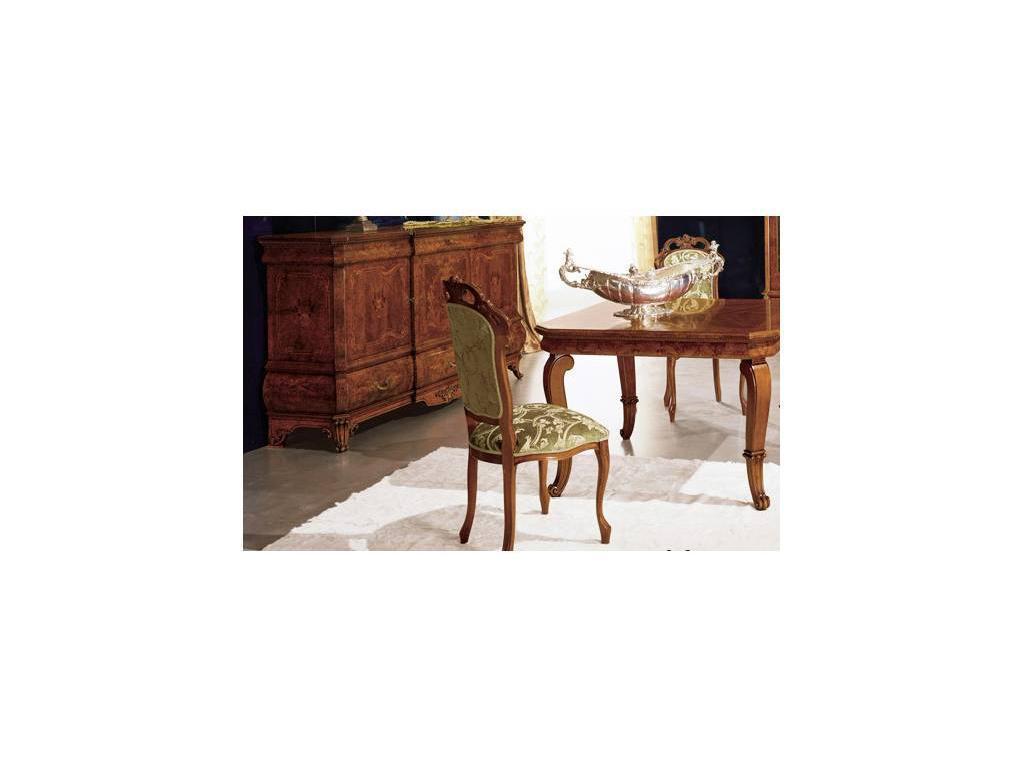 Grilli Грилли: Рондо: стул  ткань (орех, оливковый)