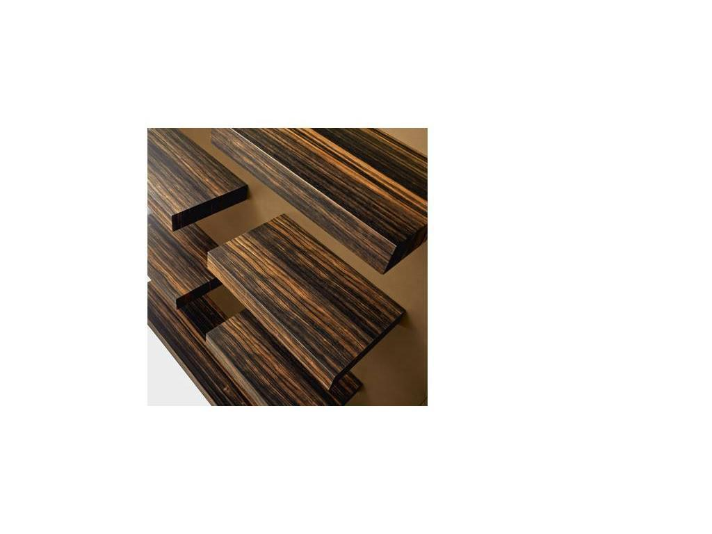 Grilli: I-Ching: стенка в гостиную комп. 2 (черное дерево)