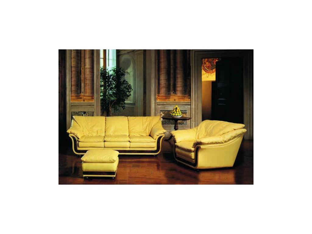 Nieri: Cornice: кресло кожа кат. Extra (LUXOR 9400 R 28 LUC)