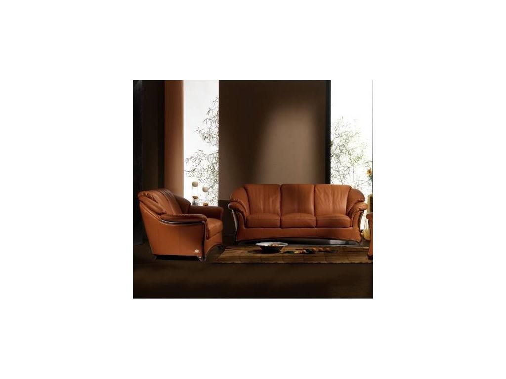 Nieri: Orchidea: кресло кожа кат. Extra (LUXOR 9220 L 85 OP)