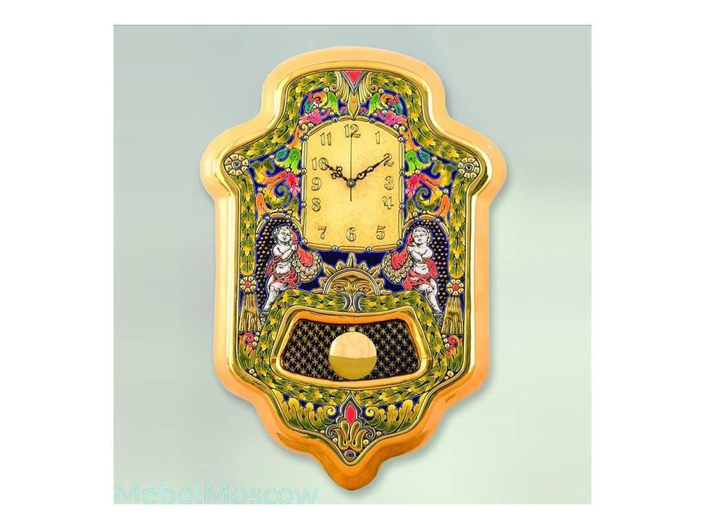 Cearco: часы настенные маятник  26х42