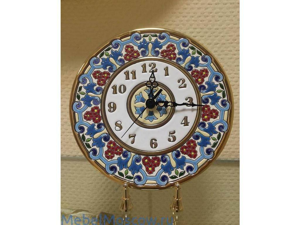 Cearco: тарелка-часы  диаметр 17см