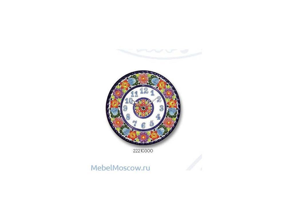 Cearco: тарелка-часы  диаметр 21см
