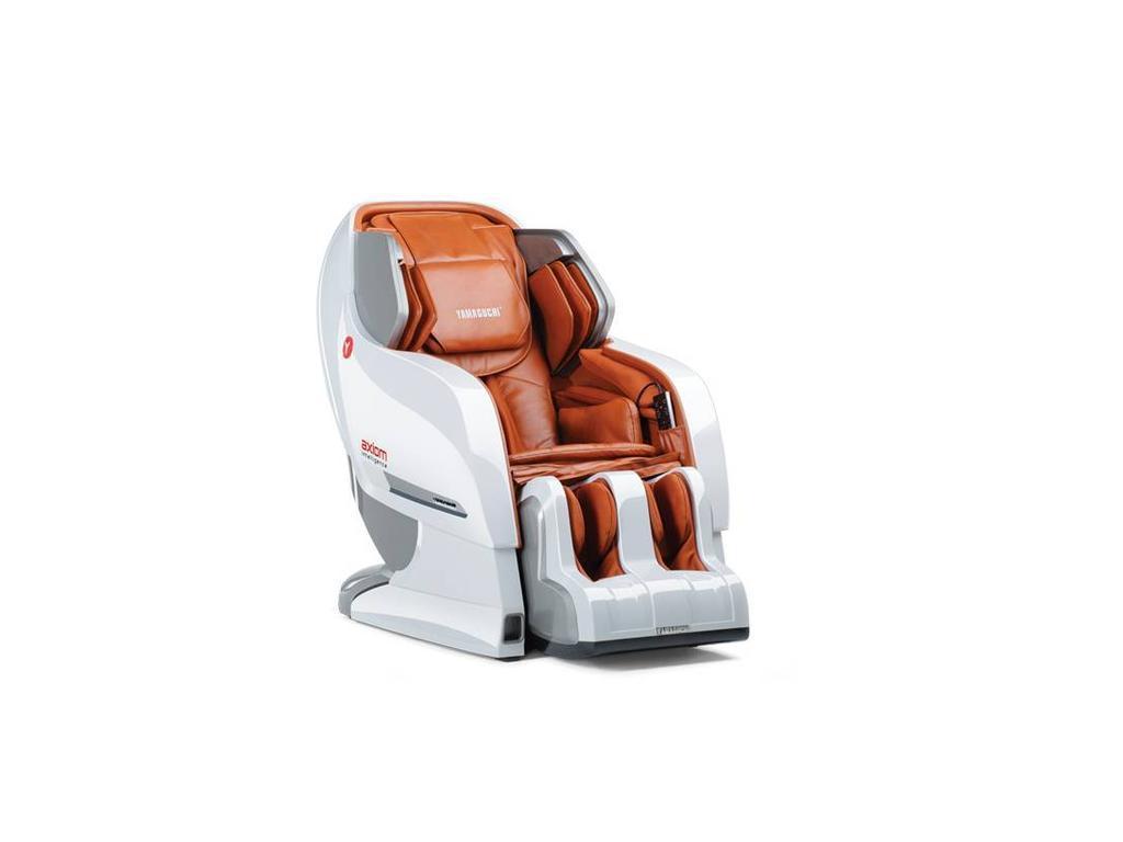Yamaguchi: Axiom: массажное кресло  (бело-рыжее)