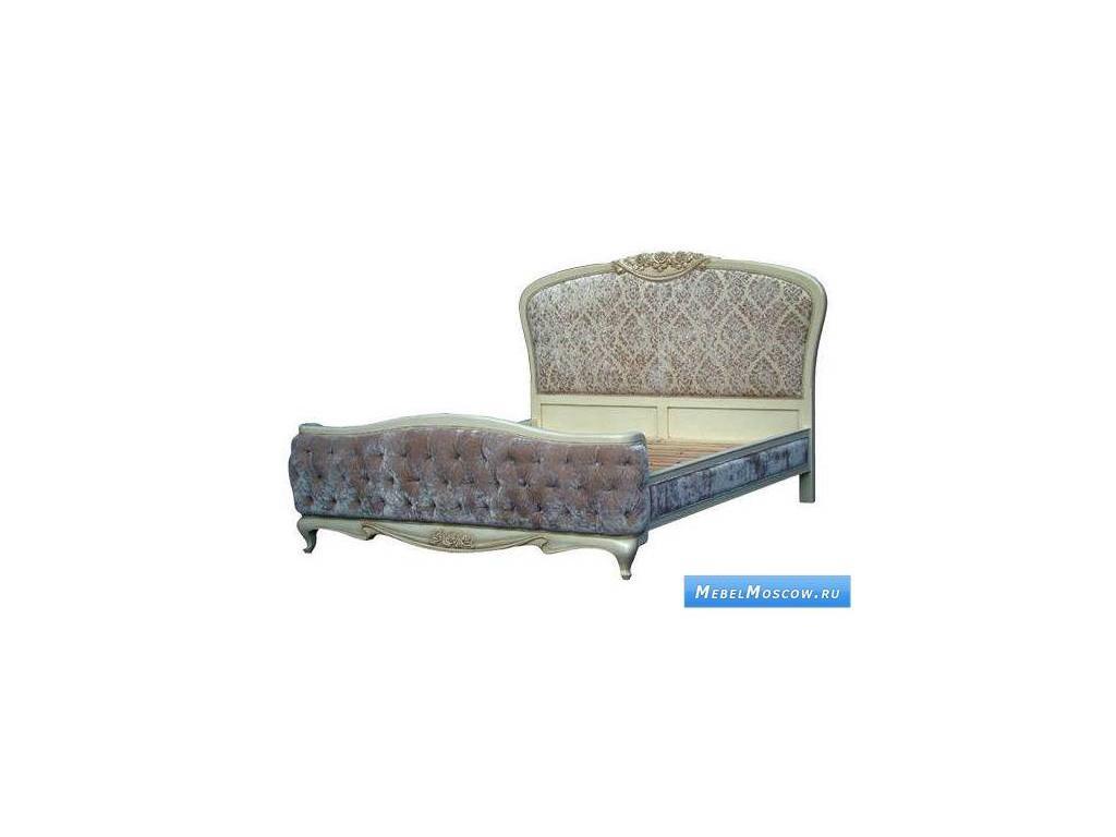 Vaoro: Dolce Rosa Дольче Роза: кровать 180х200  (слоновая кость)