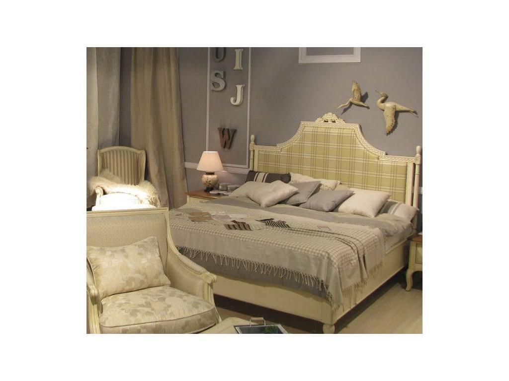 Vaoro: Provence: кровать 180х200  (слоновая кость)