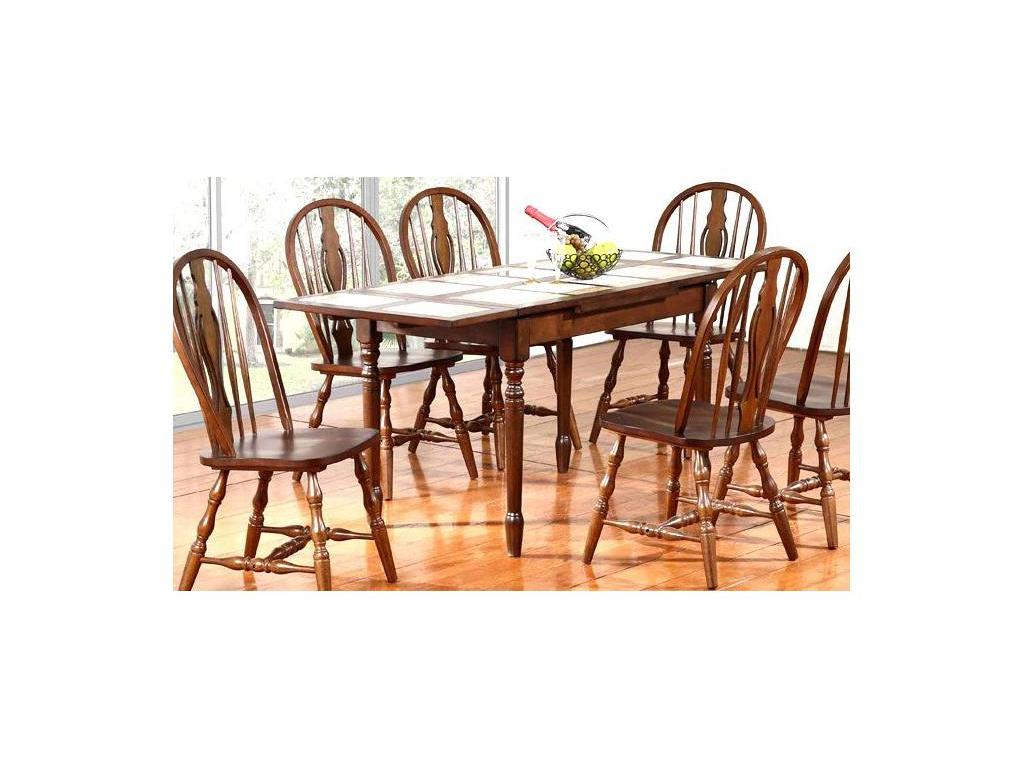 GL: LANKAWI: стол обеденный  (темный дуб)