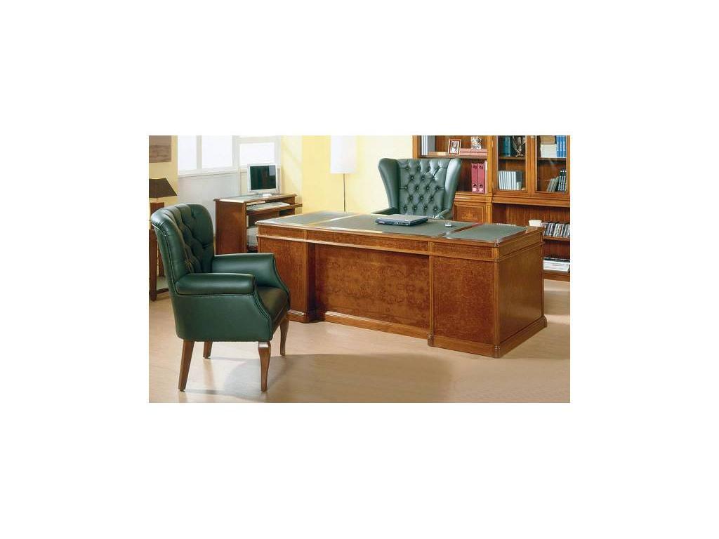 Genoveva: Geno: стол письменный 2-х тумбовый  (дуб)
