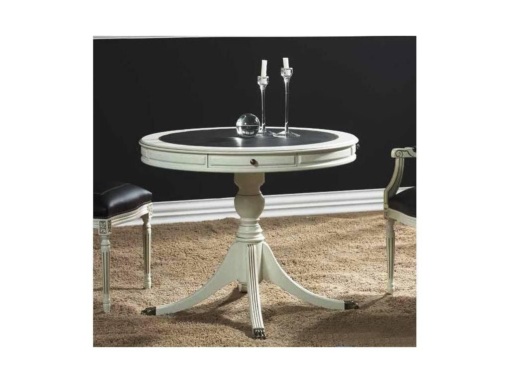 Genoveva: Aurum: стол обеденный  (слоновая кость)