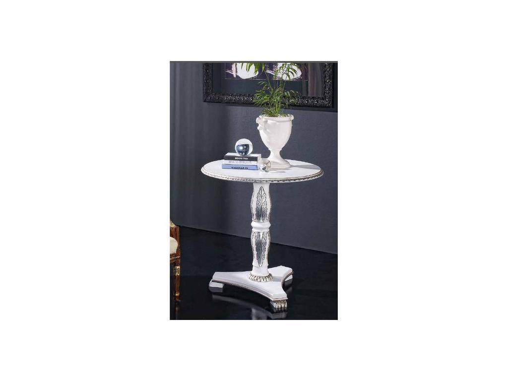 Genoveva: Aurum: стол журнальный  (слоновая кость)