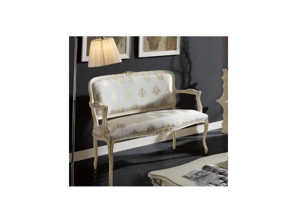 Genoveva: Aurum: диванчик  (слоновая кость)