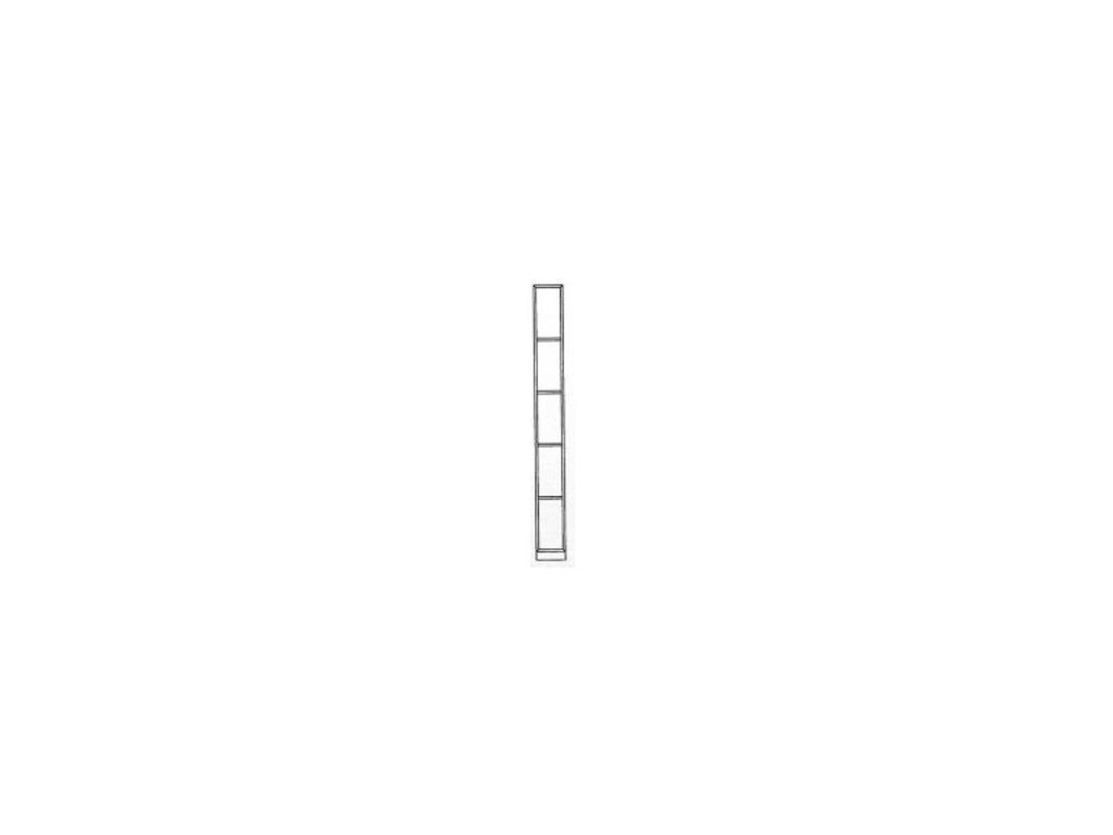 Monrabal Chirivella: Anabel: полка  вертикальная (roble)
