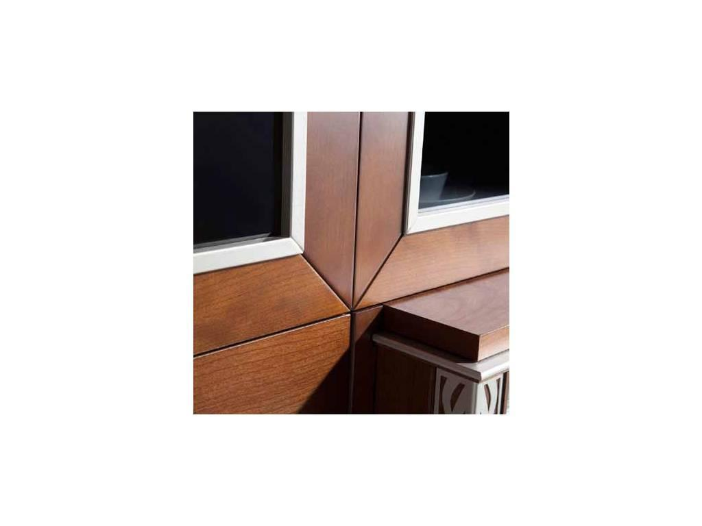 Monrabal Chirivella: Valeria: стенка в гостиную комп.5 (вишня)