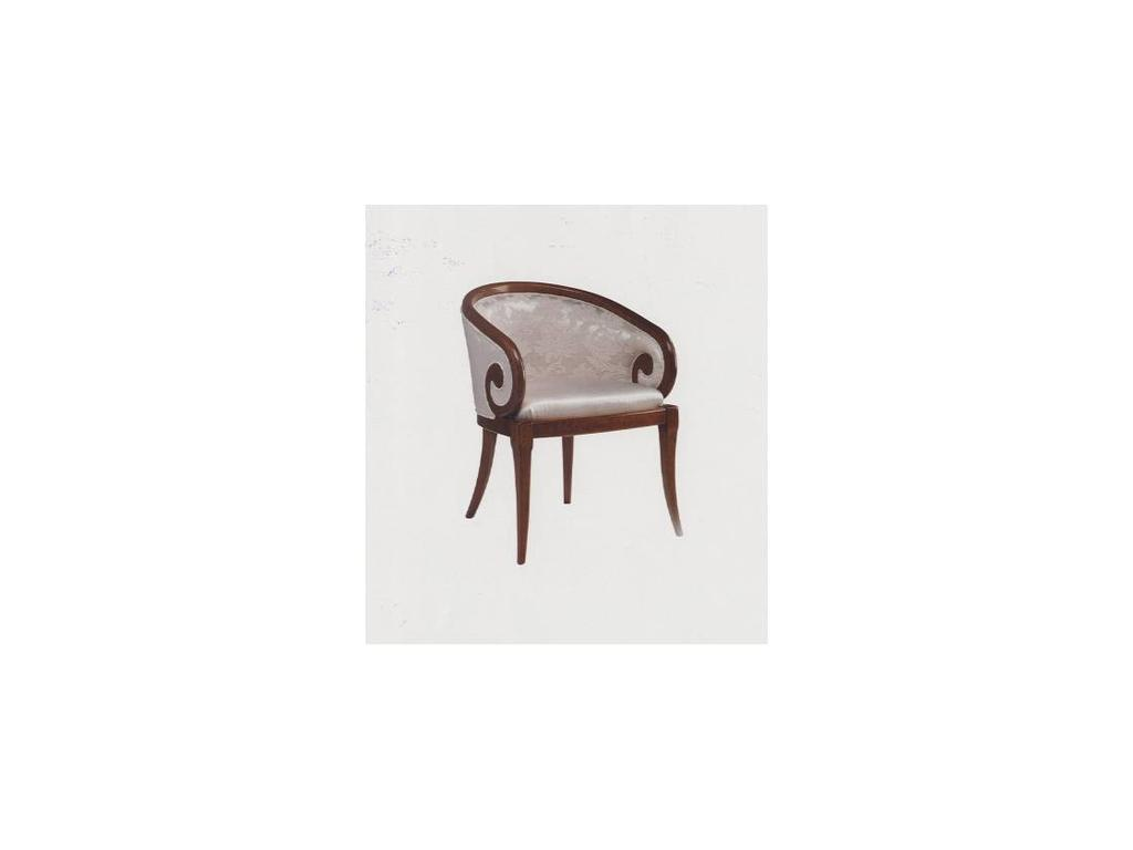 Francesco Pasi: New Deco: кресло Деко  ткань кат.С (Laccato bianco)