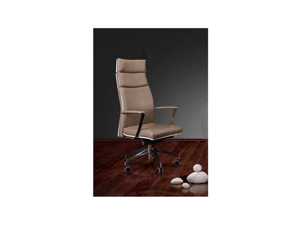 Inter: кресло руководителя ALTHEA с высокой спинкой (белый)