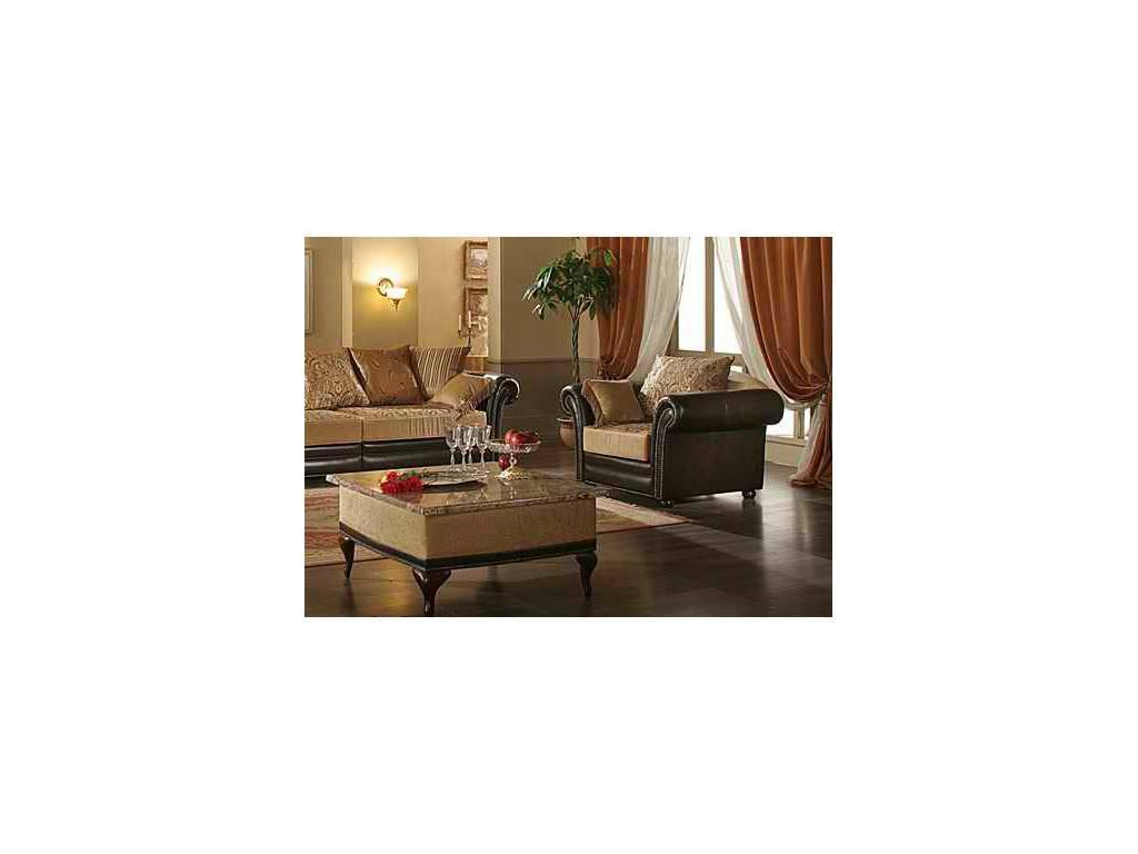 Комдис: Турин: кресло, кожа, ткань