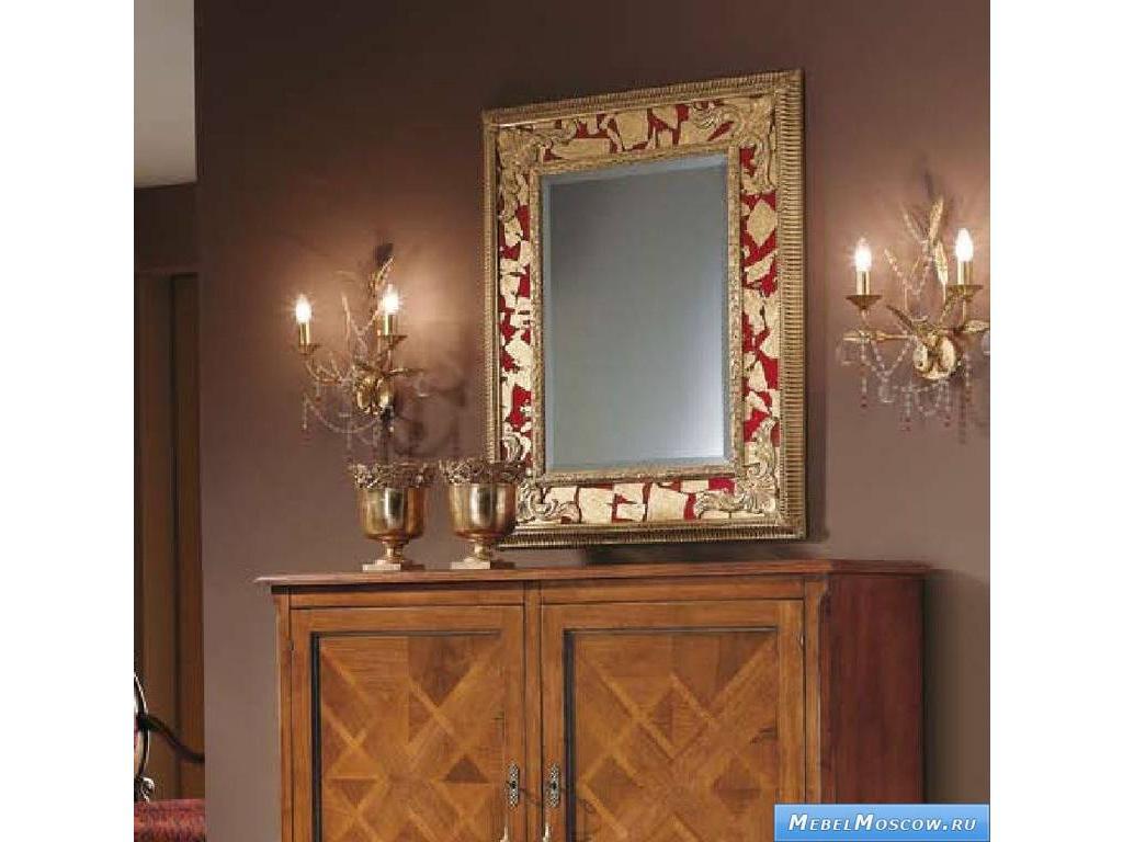 V. Villanova: Ломбардия: зеркало настенное  (черешня, золото)