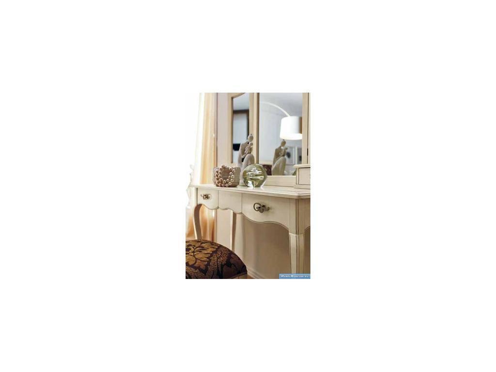 V. Villanova: Капри: стол туалетный   (белый, черешня)