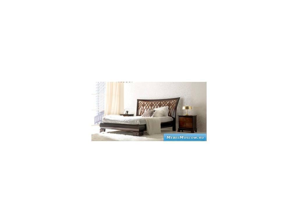 V. Villanova: Riva: кровать двуспальная 180х200  (черешня, мока)